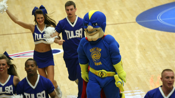 Golden Hurricane       School:     University of Tulsa       Find them in the bracket:     13 seed in the South   When the team tried to claim the name Golden Tornadoes in the 1920s, the name was already taken. Instead, they settled on Golden Hurricane. That&#39;s right, just one  hurricane. Because a hurricane is a kind of mascot you can&#39;t handle more than one of.  <span class=meta>(Scott Uyeno via Flickr)</span>
