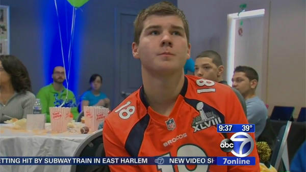 "<div class=""meta ""><span class=""caption-text "">  Catching the Super Bowl in person  Every year Make-A-Wish hears kids say that their biggest dream is to go to the Super Bowl, and this year was no different. The foundation sent 13 kids and teenagers from around the country to see the game for a night they won't soon forget.  Want to help more wishes come true? Visit worldwish.org. (WABC)</span></div>"