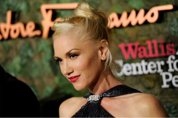 Gwen Stefani     When the singer&#39;s third boy was born earlier this year, her husband tweeted his mouthful of a name: Apollo Bowie Flynn Rossdale. The interesting middle names, he explained, are maiden names of the rock star.  <span class=meta>(Photo&#47;Chris Pizzello)</span>
