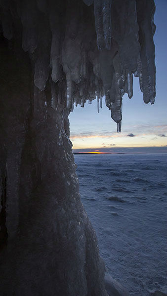 "<div class=""meta image-caption""><div class=""origin-logo origin-image ""><span></span></div><span class=""caption-text"">     Explorers this year are taking advantage of an infrequent natural phenomenon. Lake Superior is so frozen that certain areas are safe to walk on. That means visitors can hike out to the dazzling display of frozen terrain along the    Apostle Islands National Lakeshore including caves, cliffs and frozen waterfalls.       Weather conditions have not been right for this since 2009, and the trek is rarely possible before February, as it was this year.   Andy Rathbun of the    St. Paul Pioneer Press, who shot these     photos, said he won't soon forget his first visit to the caves.       ?Standing atop the frozen crust of the largest freshwater lake in the world - by surface area - and hearing the pops and pings of the ice as it moves ever     so slightly under massive force is a great experience,? he said.       See more of Rathbun's work on Flickr.  (Photo/Andy Rathbun, Pioneer Press)</span></div>"
