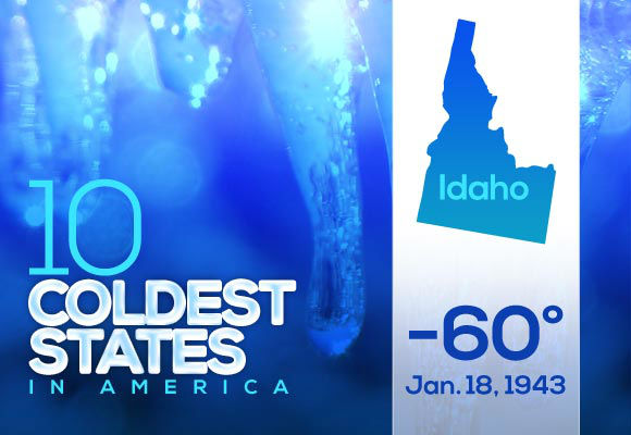 5. Idaho &#40;tied&#41;  Just like Wyoming&#39;s record, this polar air was recorded in Yellowstone Country. Idahoans in Island Park probably made like bears and didn&#39;t come out all winter.  This year&#39;s low: 1 <span class=meta>(Photo&#47;WTVD)</span>