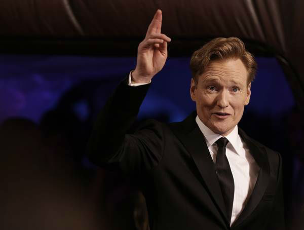 "<div class=""meta ""><span class=""caption-text "">The first lady's 50th birthday got us thinking: Who else is rocking it at the half-century mark? Pictured here: Conan O'Brien  (AP Photo/Ben Margot)</span></div>"
