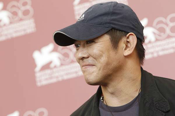 "<div class=""meta ""><span class=""caption-text "">The first lady's 50th birthday got us thinking: Who else is rocking it at the half-century mark? Pictured here: Jet Li (AP Photo/Andrew Medichini)</span></div>"