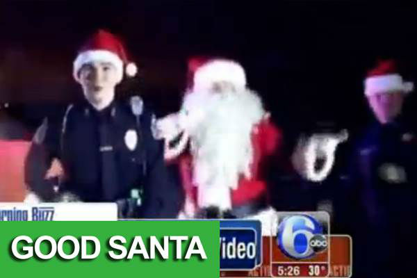 ...helps citizens stay safe through the holidays. <span class=meta>(Hampton Police&#47;WPVI)</span>
