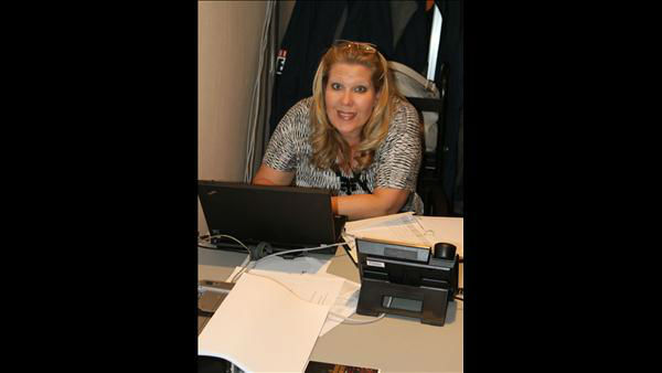 ABC11 News Operations Manager Elizabeth Plyler at the DNC <span class=meta>(ABC11 Photojournalist Jim Schumacher)</span>