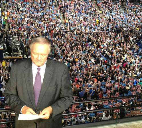The arena is packed right before the 11 p.m. broadcast. <span class=meta>(WTVD Photo)</span>
