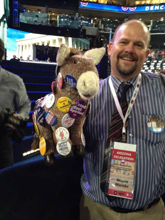Pin the pin on the donkey. <span class=meta>(WTVD Photo)</span>