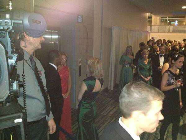Behind the scenes at the inaugural ball with ABC11. <span class=meta>(WTVD Photo&#47; Pattie Hartin)</span>