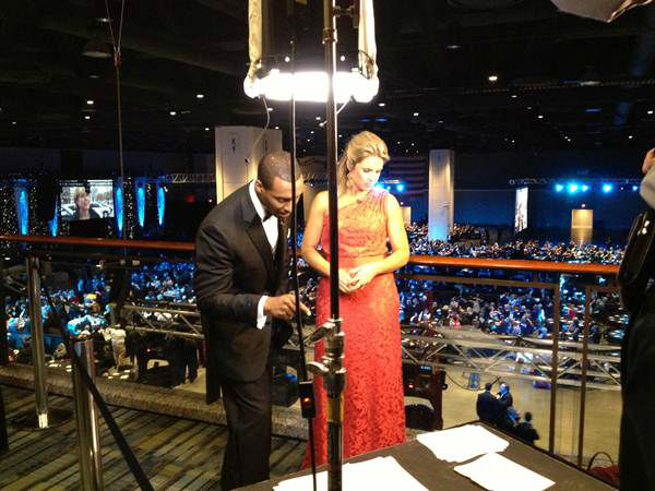 "<div class=""meta ""><span class=""caption-text "">Behind the scenes at the inaugural ball with ABC11. (WTVD Photo/ Pattie Hartin)</span></div>"