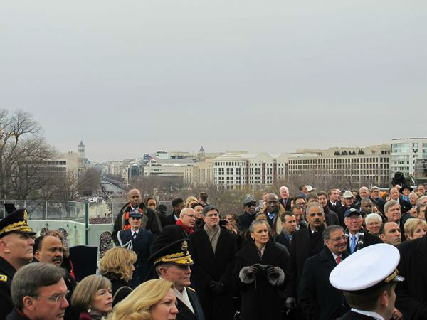 "<div class=""meta ""><span class=""caption-text "">North Carolina Congressman G.K. Butterfield shares a front row view of the inauguration most never see (Congressman G.K. Butterfield Photo)</span></div>"