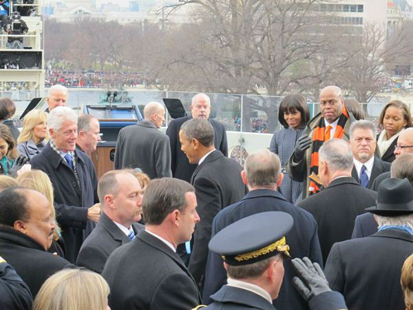 North Carolina Congressman G.K. Butterfield shares a front row view of the inauguration most never see <span class=meta>(Congressman G.K. Butterfield Photo)</span>