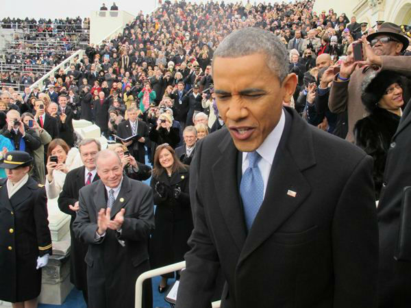 North Carolina Congressman G.K. Butterfield shares a front row view of the inauguration most never see <span class=meta>(Photo&#47;Congressman G.K. Butterfield Photo)</span>