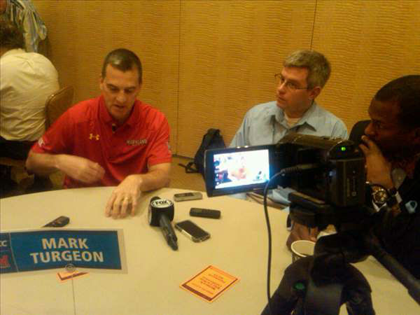 Maryland&#39;s Mark Turgeon <span class=meta>(WTVD Photo&#47; Charlie Mickens)</span>