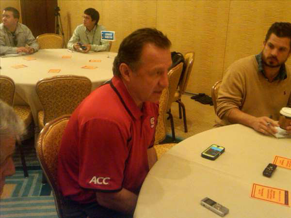 NC State&#39;s Mark Gottfried <span class=meta>(WTVD Photo&#47; Charlie Mickens)</span>