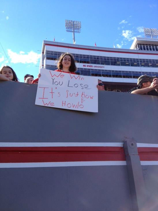 First-year Wolfpack coach Dave Doeren is making his debut in the most important game to his school&#39;s fan base  <span class=meta>(WTVD Photo&#47; Charlie Mickens)</span>