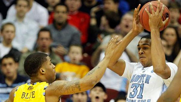 North Carolina dominates Marquette 81-63