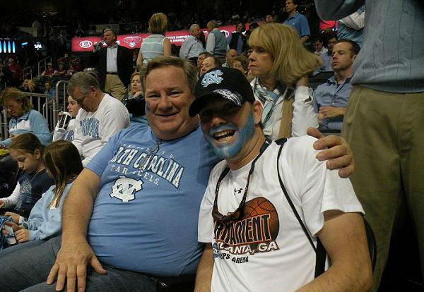 UNC took on Maryland Friday. <span class=meta>(WTVD Photo&#47; BRITT GUARGLIA)</span>
