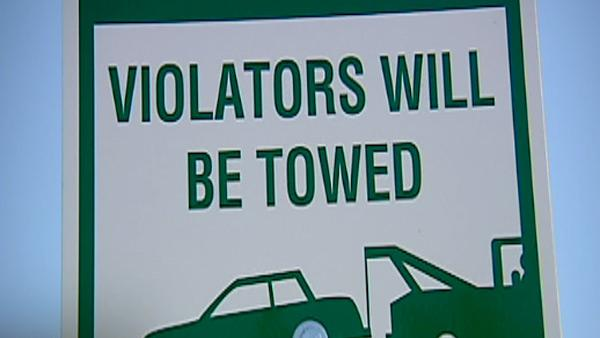 Driver upset over being towed
