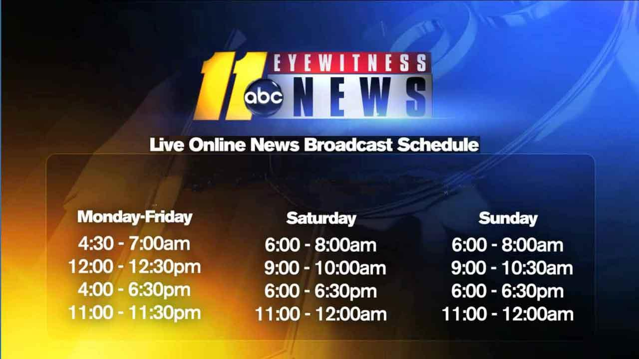 Watch live newscasts from ABC11