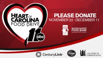 Heart of Carolina Food Drive