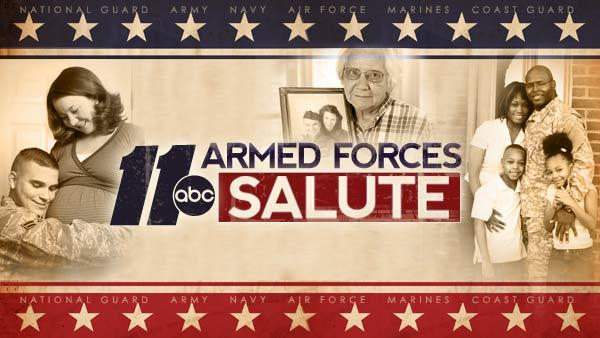 Armed Forces Salute: Steen Family