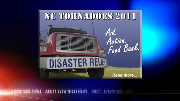 Donate food, toiletries to tornado victims