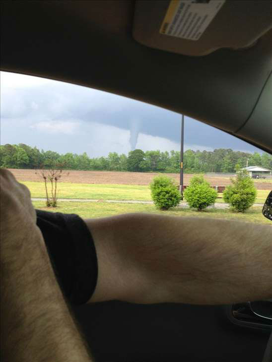 ABC11 viewers sent in photos and video of the storms Tuesday. <span class=meta>(WTVD&#47;I-Witness)</span>