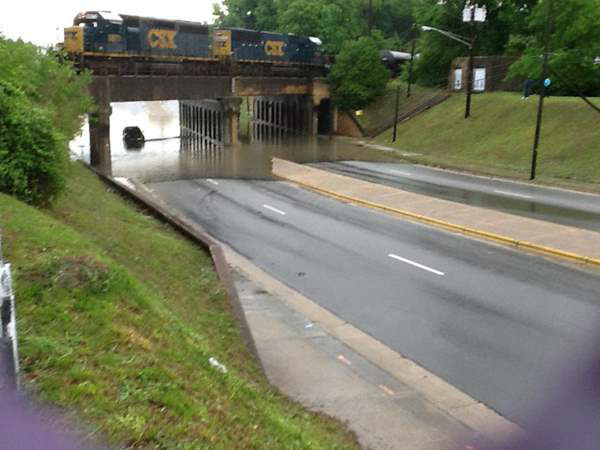 ABC11 viewers sent in photos of the storms and flooding Tuesday and Wednesday.