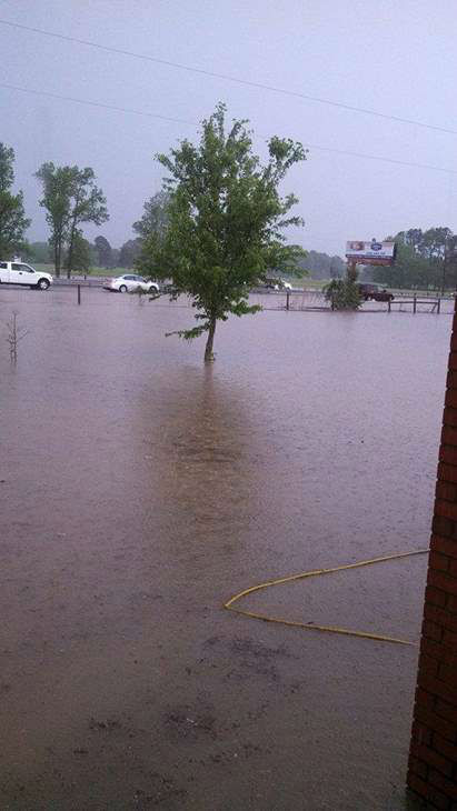 ABC11 viewers sent in photos of the storms and flooding Tuesday and Wednesday. <span class=meta>(WTVD Photo&#47; iWitness)</span>