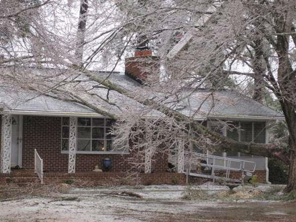 "<div class=""meta ""><span class=""caption-text "">A blast of rain, sleet, and ice brought down trees and caused thousands of power outages across the region. Seeing damage where you are? Send your pictures to iwitness@abc11mail.com. (ABC11 iWitness photo)</span></div>"