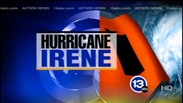 Irene downgraded to tropical storm
