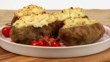 Stuffed Chive Potatoes