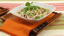 Turkey Noodle Soup with Shiitake Mushrooms