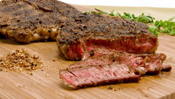 Rib Steaks With Spice Rub And Green Bean Salad Recipes — Dishmaps