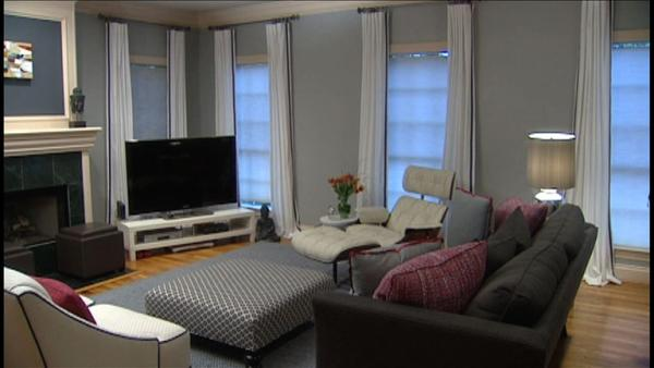 Complete episode living room makeover deals the live for Living room specials