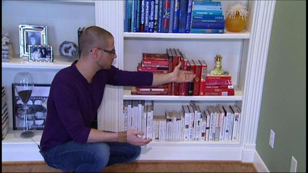 Complete Episode: Decorating Book Shelves
