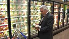 Saving Money in the Grocery Stores Frozen Food Aisle