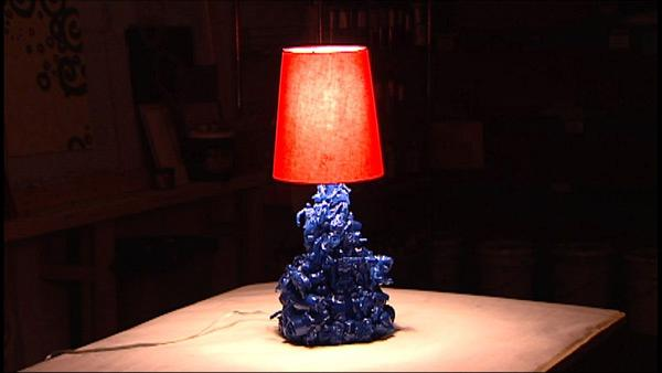 Create New Lamp With Old Stuff