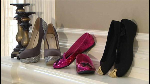 Glam Shoe Makeover