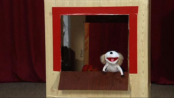 How to Make Cardboard Box Puppet Theater