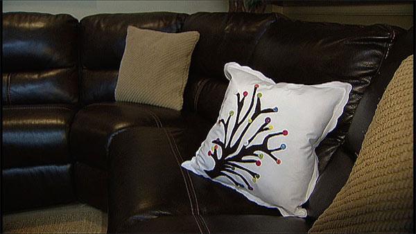 diy no-sew throw pillows | deals | the live well network Diy Sofa Pillows