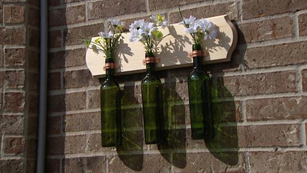 4 Wine Bottle Craft Projects