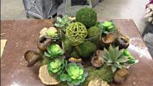 3 High-End Wreaths for Less, 4 Wine Bottle Craft Projects, Money Saving Tips, Growing Succulents