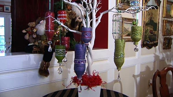 Water Bottles DIY Christmas Decorations