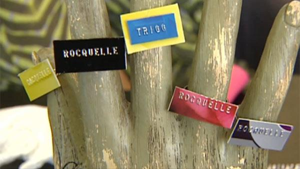 How to Make DIY Name Plate Jewelry from Credit Cards