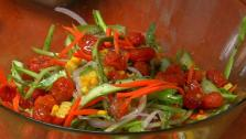 Web Exclusive: Spring and Summer Raw Salad with Squash