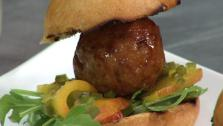 Traci Des Jardins Duck Meatball Sliders