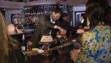 Ryan Guest Bartends at Jardini�re