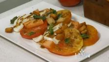 Heirloom Tomato and Melon Salad