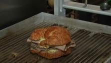 Cuban Croissant Sandwich